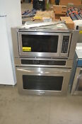 Frigidaire Fgmc3065pf 30 Stainless Microwave Oven Combo Wall Oven Nob 26956 Hl