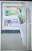 Sub Zero 24 Under The Counter Refrigerator Freezer With Ice Maker Panel Ready