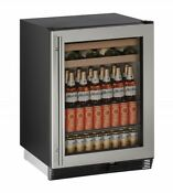 U Line 1000 Series 24 Beverage Center Field Reversible
