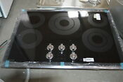 Samsung Nz30k6330rg 30 Black Stainless Electric Cooktop Nob 28870 Hl