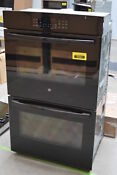Ge Jt3500dfbb 30 Black Electric Double Wall Oven Steam Nob 29427