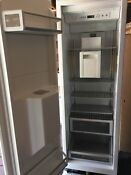 Thermador Freedom Collection T24id800lp 24 Inch Built In Full Freezer Column