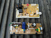 8uu75 Two Circuit Boards From Sharp Microwave Oven Drawer Kb6524ps Very Good