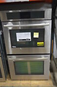 Jenn Air Jjw3830ws 30 Stainless Double Electric Wall Oven Nob 1517 Mad