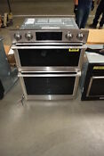 Samsung Nq70m7770ds 30 Stainless Combination Electric Wall Oven Nob 31690 Mad