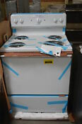 Hotpoint Rb525dhww 30 White Electric Range Nob 31745 Clw