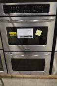 Frigidaire Fget3065kf 30 Stainless Double Electric Wall Oven Nob 74 Mad