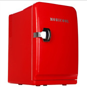 Mobicool F15 Ac Dc Thermoelectric Mini Fridge 15l Car Refrigerator Red