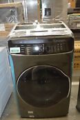 Samsung Wv60m9900av 27 Black Stainless Front Load 6 Cu Ft Washer 33596 Mad
