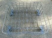 Wd28x10358 Used Gray Ge Dishwasher Lower Rack With Adjustable Tines