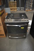 Ge Jgs760eeles 30 Slate Slide In Gas Range Nob 37657 Mad