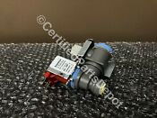 New Oem Whirlpool Refrigerator Water Inlet Valve Part W10498995 W10279909
