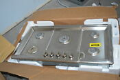 Bosch Ngm8655uc 37 Stainless Gas 5 Burner Cooktop Nob 35255 Clw
