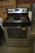 Whirlpool Wfc310s0es 30 Stainless Freestanding Electric Range Nob 39207 Mad