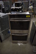 Ge Jk5500sfss 27 Stainless Electric Double Wall Oven Nob 39420 Clw