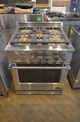 Dcs Rgv305n Stainless 30 Professional Slide In Gas Range Nob 28537 Mad