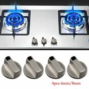 Range Gas Burner Whirlpool New Knobs Stove Oven Oem Set Kit Replacement 4 Pcs