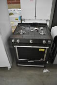 Kitchenaid Ksgg700ebs 30 Black Stainless Slide In Gas Range Nob 38188 Hrt