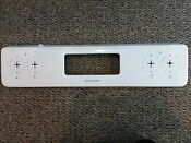 Part 316541627 White Panel Back Guard For Frigidaire Electric Range