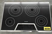 Thermador Cet304fs 30 Stainless Electric Cooktop Nob 37407 Wlk