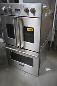 Viking Vdof730ss 30 Stainless Double Electric Wall Oven Nob 29299 Hl