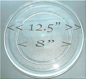 Microwave Glass Turntable Oven 12 5 Round Replacement Part Fits Most Read