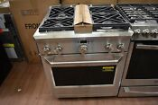 Ge Monogram Zdp304npss 30 Stainless Professional Dual Fuel Range Nob 42930 Clw