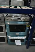 Ge Monogram Zet2phss 30 Stainless Double Electric Wall Oven Nob 41826 Hrt