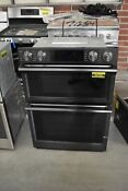 Samsung Nq70m7770dg 30 Black Stainless Combination Wall Oven 43709 Hrt