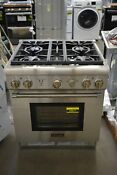 Thermador Prg304gh 30 Stainless Pro Style Gas Range Nob 43871 Hrt