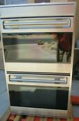 Wolf Do30u S 30 Touch Control Double Wall Oven Stainless Steel