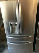 Lg Lmxs30776s Instaview Stainless Steel French Door Refrigerator 29 7 Cu Ft