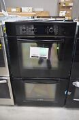 Bosch Hbl5660uc 30 Black Double Electric Wall Oven Nob 36494 Hrt