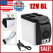 Us Mini Small Cooler For Auto Car Refrigerator 6 Liter Car Dual Use Hot