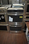 Ge Pk7500sfss 27 Stainless Double Electric Wall Oven Nob 35931 Hrt