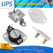 Dryer Thermostat Thermal Fuse Kit 279973 8318314 3392519 For Whirlpool Kenmore