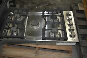 Dcs Cdv365n 36 Stainless 5 Sealed Burner Gas Cooktop Nob 25340 Hrt