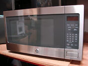 Ge Profile Series 2 2 Cu Ft Countertop Stainless Steel Microwave Oven