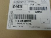 New Oem Whirlpool Microwave Touch Pad Part W11040881 C