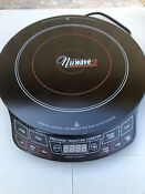 Nuwave 2 Precision Induction Electric Portable Cooktop Model 30151 Excellent