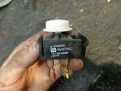 6 3704020 Maytag Dryer Push Start Switch Used Tested Button Knob 63704020