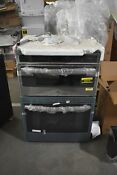 Ge Pt9800shss 30 Stainless Microwave Oven Combo Wall Oven Nob 49076 Hrt