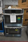 Ge Ptd7000snss 30 Stainless Double Electric Wall Oven Nob 48597 Hrt