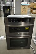 Lg Lwc3063bd 30 Black Stainless Microwave Oven Combo Nob 49528 Hrt