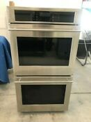 Ge Monogram 27 Double Electric Wall Oven Zek7500sh3ss