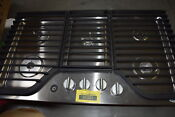 Whirlpool Wcg97us6ds 36 Stainless 5 Burner Gas Iron Grates Cooktop 29860