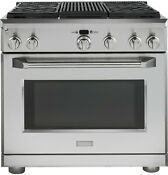 Ge Monogram Zdp364nrpss 30 Stainless Pro Style Dual Fuel Gas Range W Grill