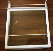 Kitchen Aid Whirlpool Refrigerator Glass Sliding Shelf With Mount 2174022