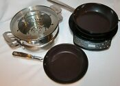 Nuwave Precision Induction Cooktop With Extras Near Mint Condition
