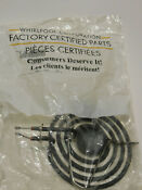 Whirlpool Factory Certified Oem Wpy04100165 Range Top Surface Burner Element Nib